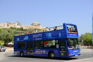 Athens, Piraeus, and Beaches: Blue Hop-On Hop-Off Bus