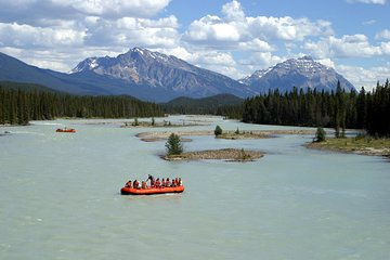 Athabasca River Easy Scenic Raft Trip