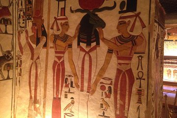 Private Nefertari and King Tut's Tombs, Valley of the Kings, Hatshepsut Temple