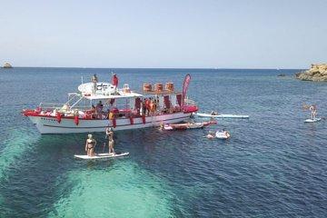 3 hours all inclusive boat trip Ibiza 2020
