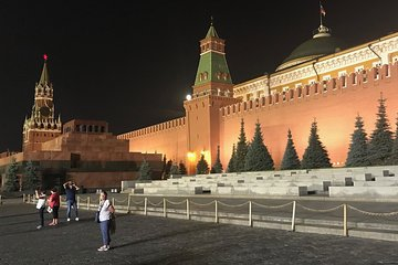 Moscow by Night and Metro tour