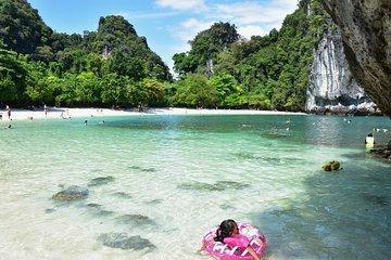 Hong Island-Tour mit dem Schnellboot ab Krabi mit Sightseeing und Kajak Option