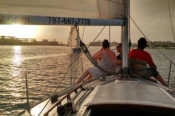Sunset Sail by San Juan Historical Bay