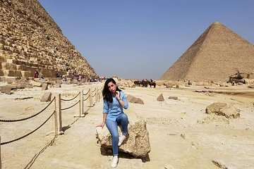 Save 10.00%! airport pick up Giza pyramids tour drop off giza cairo hotel or back to airport