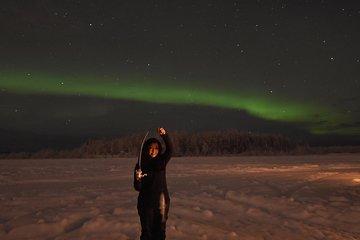 Aurora Borealis Viewing and Ice Fishing Adventure