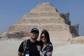 Save 30.00%! half day tour Sakkara funerary complex from Cairo Giza hotel with Egyptology