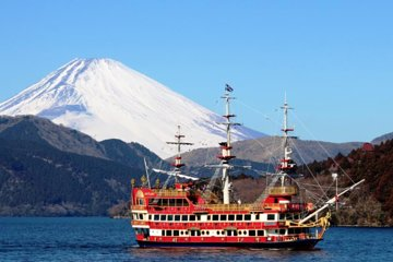 Hakone Day Tour with Lake Ashi cruise and Ohwakudani