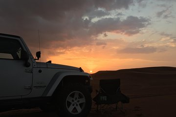 Dune Bashing with Campfire and BBQ in the Desert