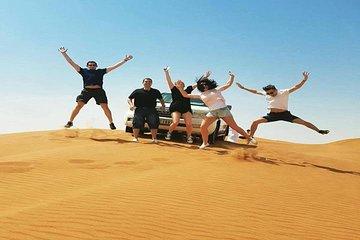 Desert Experience: 4x4 Dune Bashing, Camel Riding, BBQ Dinner, Live Shows