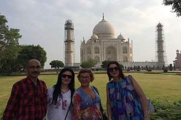 Taj Mahal Sunrise & Sunset Private 1 Day Tour from Delhi