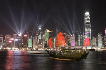 Aqua Luna: Symphony of Lights Cruise in Hong Kong