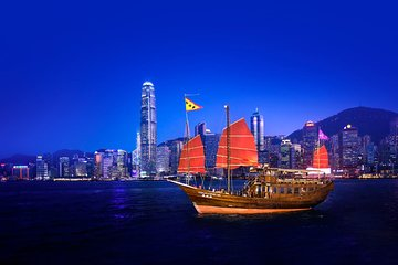Aqua Luna: Evening Cruise at Victoria Harbour Hong Kong