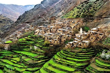 Full-Day Private Tour Atlas Mountains and 5 Valleys from Marrakech