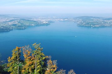 Luzern: Enjoy Afternoon Tea Excursion to Mt. Burgenstock by boat and funicular