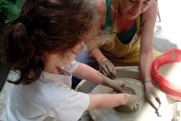 Greek Mythology Private Tour & Pottery Workshop Private Experience for Families