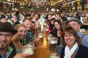 Munich Oktoberfest Tour and Table Reservation in Tent with Unlimited Beer