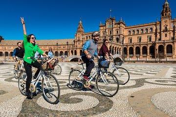 12-Uhr-geführte Radtour durch Sevilla