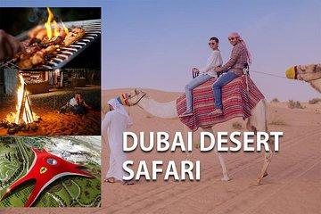 Red Dunes Desert Safari & Abu Dhabi Ferrari World Tour