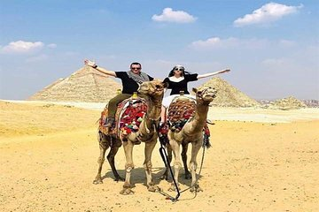Private Tour Giza Pyramids,Sphinx and Camel ride