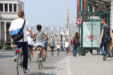 Small-Group Highlights of Brussels Bike Tour