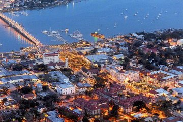 St. Augustine Nights of Lights Celebration from Orlando