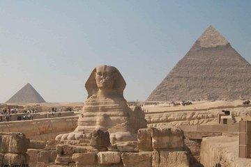 ganztägig in kairo-pyramiden, sphinx...