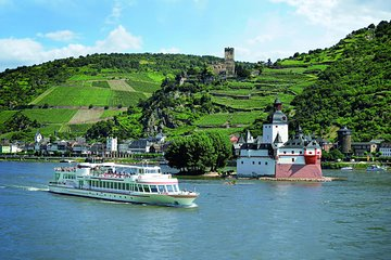 Rhine River Hop On Hop Off Cruise on Castle Route