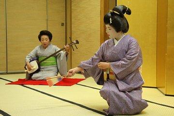 Authentic Geisha Performance and Entertainment including a Kaiseki Course Dinner
