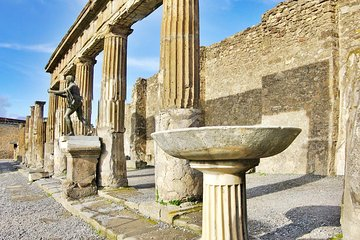 Pompeii to Vesuvius Tour with Skip-the-Line Tickets to Ruins & Volcanic Crater