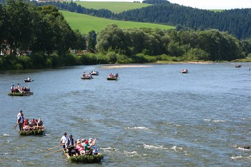 Rafting the Dunajec River Gorge in Southern Poland, private tour from Krakow