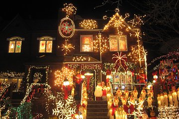 THE TOP 10 New York City Christmas (w/Prices) R Heights Christmas Lights Map on