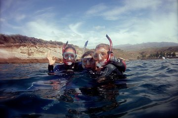 Snorkelling with the turtles