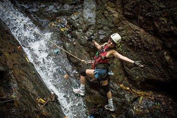 Waterfall Rappelling, Zipline and Trek Adventure from Jaco