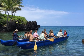 Guided Outrigger Canoe Tour in Kealakekua Bay