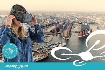 Entdecke Hamburg aus der Luft: 360 Grad Sightseeing Flug