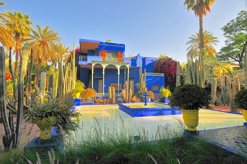 Majorelle Garden, Berber Museum and Camel Ride Tour from Marrakech