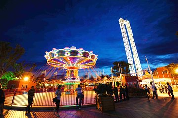 Private Round Trip Transfer to Shanghai Happy Valley Amusement Park