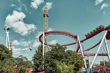 Skip the Line: Tivoli Gardens 1-Day Unlimited Rides Ticket PLUS