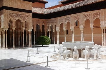 Alhambra and Granada Costa del Sol hotel pick up tour