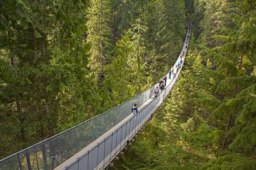 Vancouver Highlights et Capilano...
