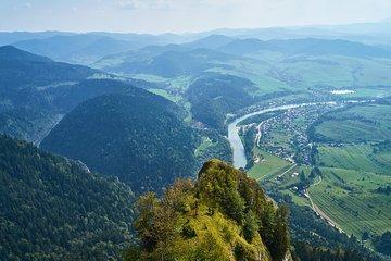 Caminhadas nas montanhas Pieniny...