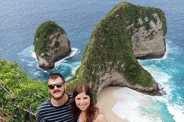 Visite de la plage de l'ouest de Nusa...