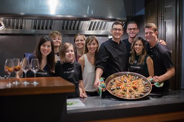 Seafood Paella Cooking Class and Local Market Tour with your Chef