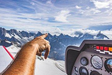 Tour du Mont Blanc en Avion Privé...