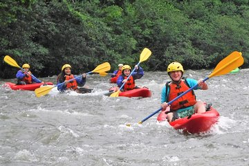 Guided Whitewater Kayaking in the...