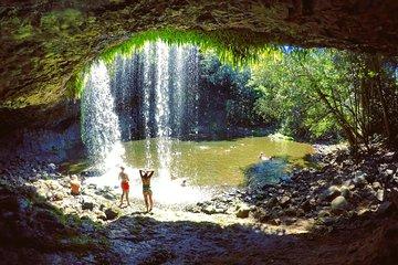 Byron Surrounds: Nimbin Waterfall