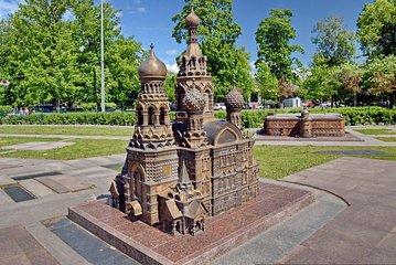 St. Petersburg im Miniaturmuseum und...