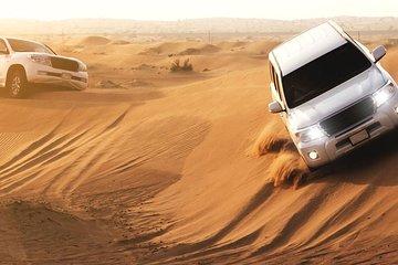 Dubai Red Dunes Desert Safari & Creek Cruise Dinner