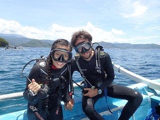 Prueba Dive in Blue Lagoon, Bali