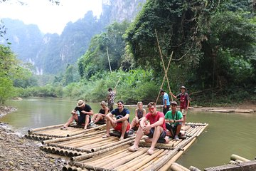 Khao Sok: Full-Day Bamboo Rafting and ...
